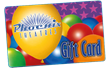 Party Balloons - $50 Gift Card